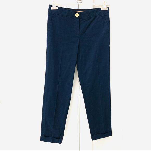 TORY BURCH cuffed pants